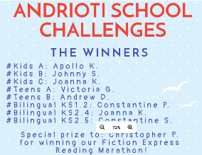 Andrioti School Challenges: Winners!